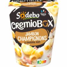 Crémiobox - Jambon Champignon avec Emmental