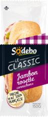 Sandwich Le Classic - Jambon Rosette Cornichons