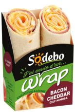J'ai envie d'un wrap - Bacon Cheddar Œuf mimosa