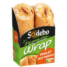 J'ai envie d'un wrap - Poulet Œuf mimosa