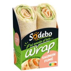 J'ai envie d'un wrap - Saumon fumé