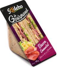 Sandwich Le Gourmand Club - Bacon Emmental