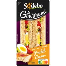 Sandwich Le Gourmand Club - Poulet Caesar