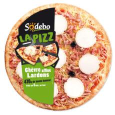 La Pizz - Chèvre affiné Lardons