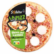 La Pizz - Chèvre Lardons