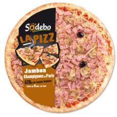 La Pizz - Jambon Champignons de Paris