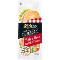 Sandwich Le Classic - Rôti de porc Moutarde à l'ancienne