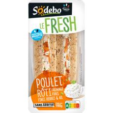 LE FRESH - Poulet rôti Fromage frais