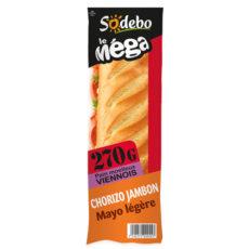 Sandwich Le Méga - Baguette - Jambon Chorizo Mayo légère