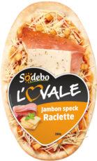 L'Ovale - Jambon speck Raclette
