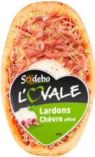 L'Ovale - Chèvre affiné & Lardons