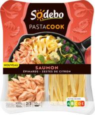 PastaCook - Saumon épinards