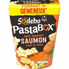 PastaBox - Pâtes fraîches Saumon et Pointe de citron