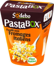 PastaBox - Fusilli aux Fromages italiens