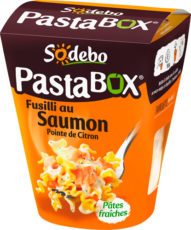 PastaBox - Fusilli au Saumon et Pointe de citron