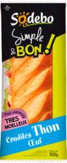 Sandwich Simple & Bon ! Baguette - Crudités Thon Oeuf