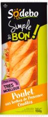 Sandwich Simple & Bon ! Baguette - Poulet aux herbes de Provence Crudités