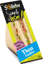 Sandwich Simple & Bon ! Club Viennois - Thon Crudités