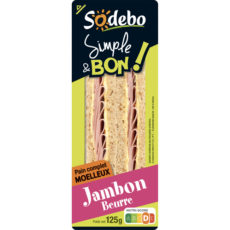 Sandwich Simple & Bon ! Club - Jambon Beurre
