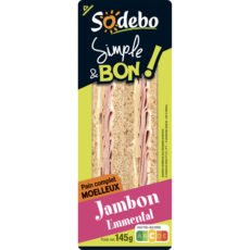 Sandwich Simple & Bon ! Club - Jambon Emmental