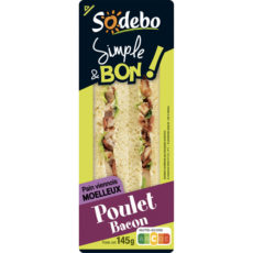 Sandwich Simple & Bon ! Club Viennois - Poulet Bacon