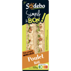 Sandwich Simple & Bon ! Club - Poulet rôti