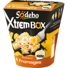 XtremBox - Radiatori 4 fromages