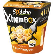 XtremBox - Radiatori 4 fromages