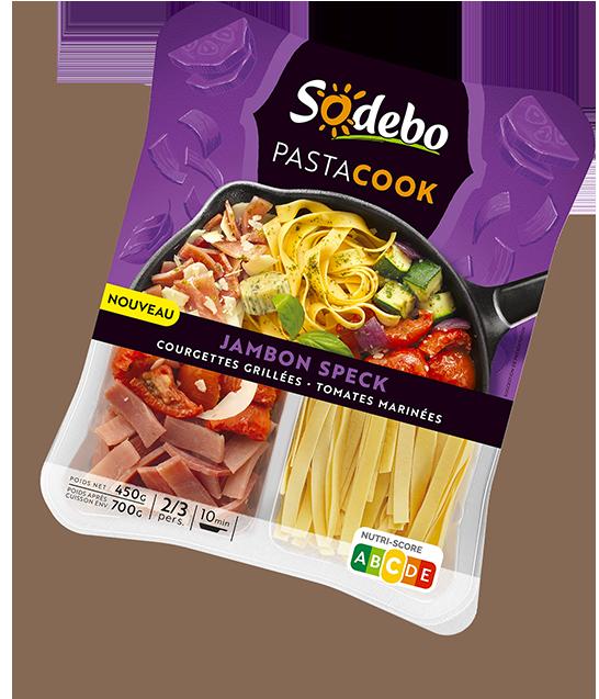 PastaCook jambon speck