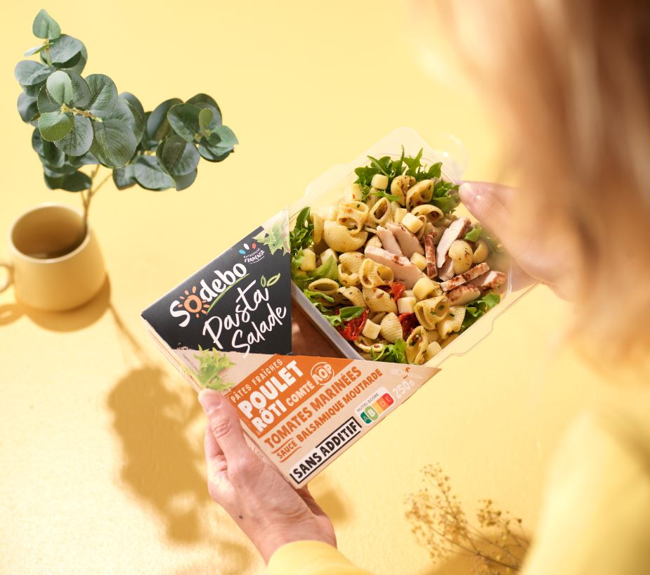 Pasta Salade sodebo lancée en 2020