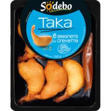 Taka - 6 Beignets de crevette