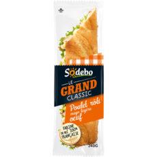 Sandwich Le Grand Classic - Poulet rôti Mayo légère Oeuf