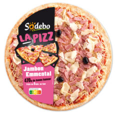 La Pizz - Jambon  Emmental
