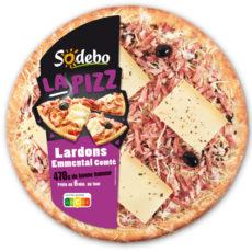 La Pizz - Lardons Emmental Comté