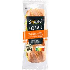Sandwich Le Classic  - Poulet rôti Mayo légère Oeuf