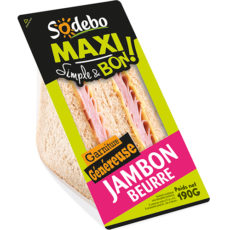 Sandwich Maxi Simple & Bon ! - Jambon Beurre