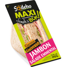 Sandwich Maxi Simple & Bon ! - Jambon Salade Emmental