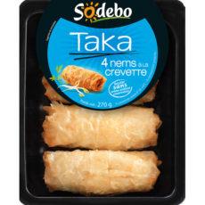 Taka - 4 Nems à la crevette