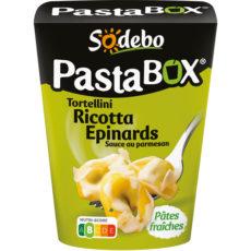 PastaBox - Tortellini Ricotta Epinards Sauce au parmesan