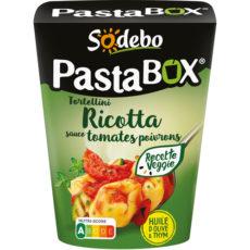 PastaBox - Tortellini Ricotta Tomates Poivrons