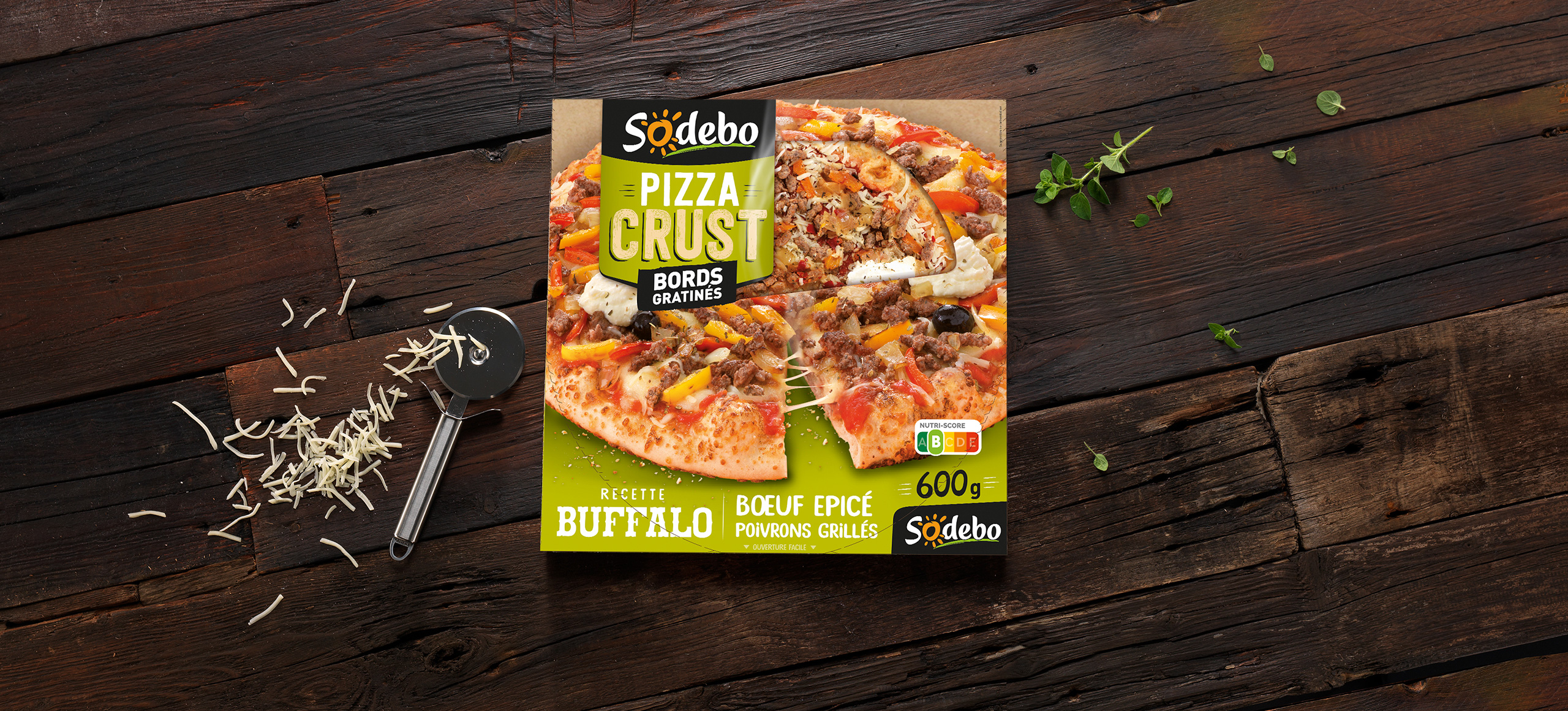 Pizza Crust - Buffalo