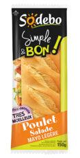 Sandwich Simple & Bon ! Baguette - Poulet Salade Mayo légère