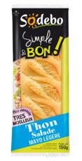 Sandwich Simple & Bon ! Baguette - Thon Salade Mayo légère
