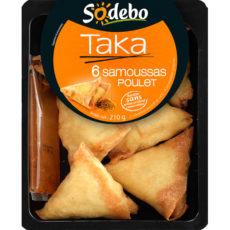 Taka - 6 Samoussas poulet