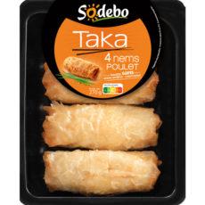 Taka - 4 Nems poulet