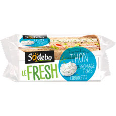 LE FRESH - Thon et fromage frais ciboulette