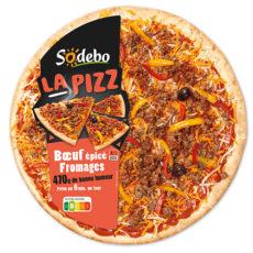 La Pizz - Bœuf épicé Fromages