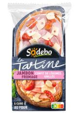 La Tartine - Jambon Fromage
