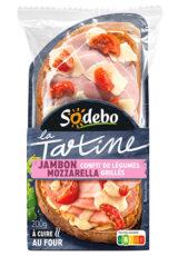 La Tartine - Jambon Mozzarella