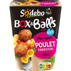 Box & Balls - Pipe rigate, Poulet Tandoori